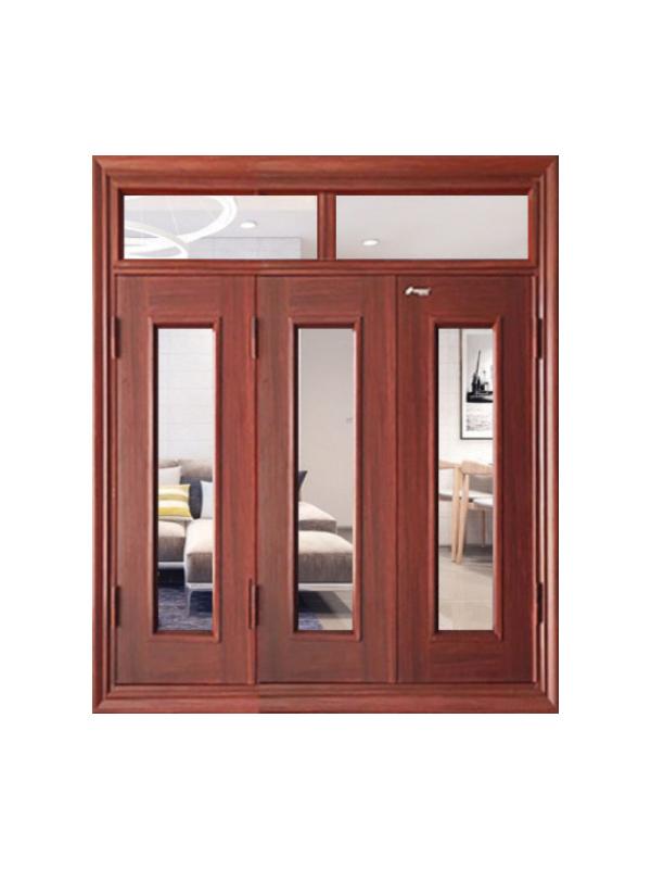 Hệ cửa sổ vân gỗ huỳnh 4.CSK1