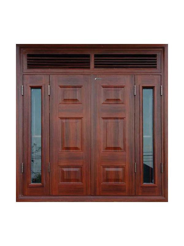Hệ cửa sổ vân gỗ huỳnh 4.CSH2-K1