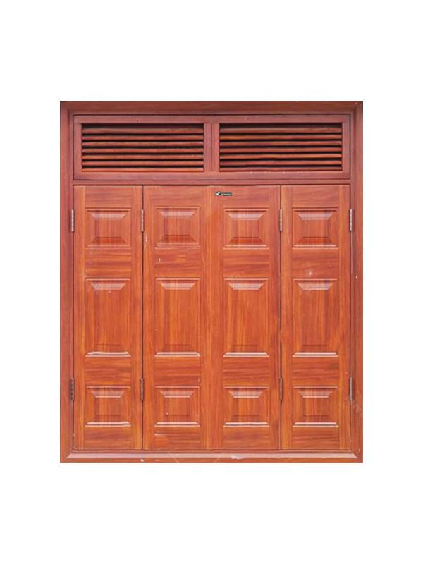 Hệ cửa sổ vân gỗ huỳnh 4.CSH2