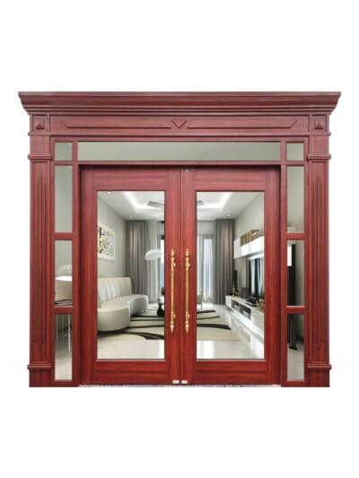 Mẫu cửa vân gỗ Royal TL1