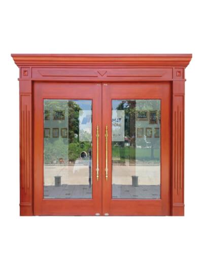 Mẫu ảnh cửa thép vân gỗ TL3