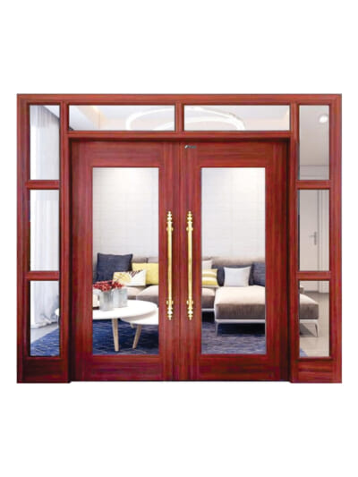 Mẫu cửa vân gỗ Royal TL5