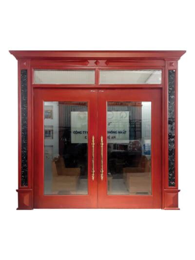 Mẫu ảnh cửa thép vân gỗ TL6