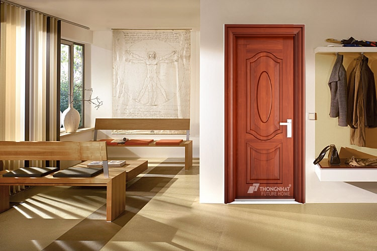 Mẫu cửa thép vân gỗ thông phòng đẹp và phong cách – Thống Nhất group