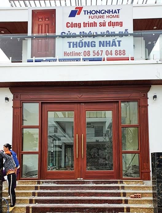 Lắp cửa thép thủy lực tại TP Thanh Hóa
