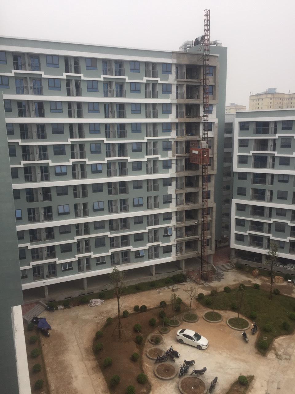 Lắp đặt cửa thép tại công trình chung cư Kim Chung Hà Nội